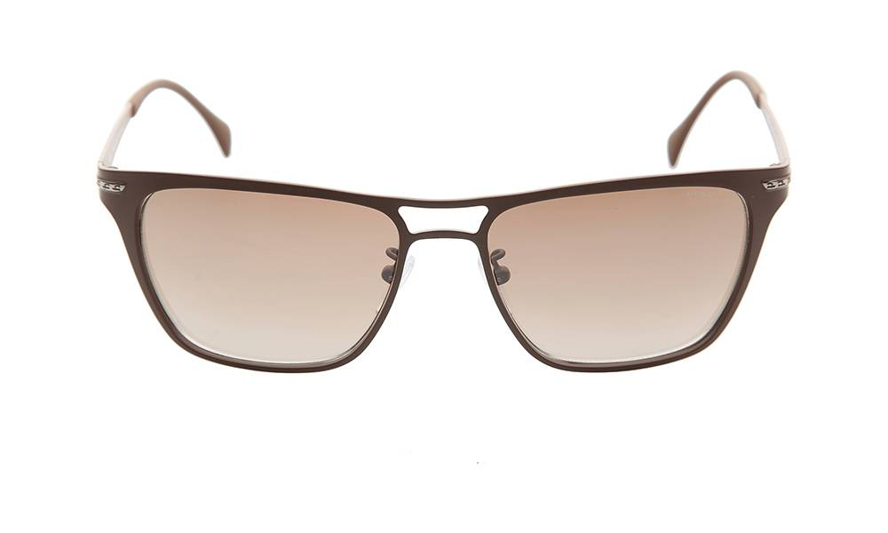 Police Sunglasses - S8751M_568ULX_W- Brown Frame, Brown Lens
