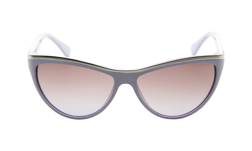 Police Sunglasses - S1808_5806T3_W- Lilac Frame, Brown Lens
