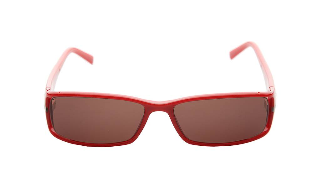 Police Sunglasses - S1573_5607FU_W - Red Frame, Grey Lens