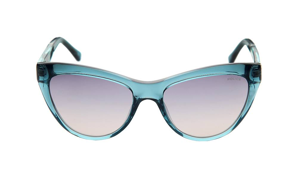 Police Sunglasses - S1807_520V93_W- Light Blue Frame, Pink Lens