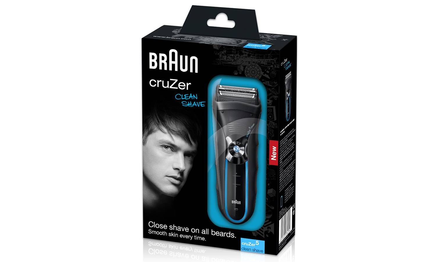 Braun Cruzer 5 Clean Shave Electric Foil Shaver