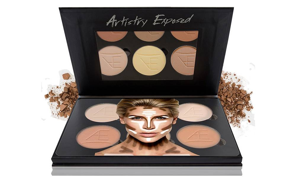 Contour Aesthetica Cosmetics powder contour kit
