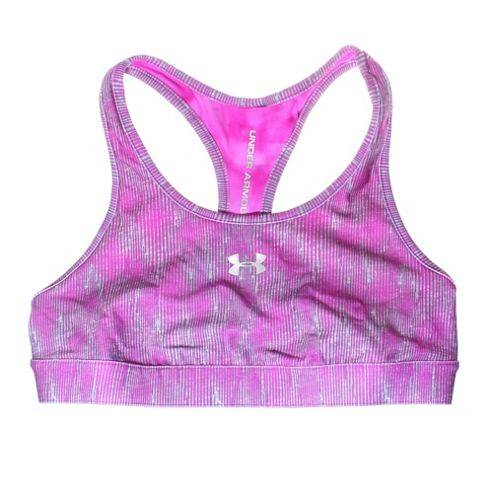 Under Armour Sonic Reversible Womens Sports Bra - Purple / Grey - Purple