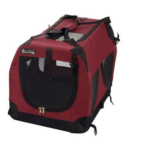 Pet Brands Petzden Canvas Fold Flat Pet Retreat - Medium
