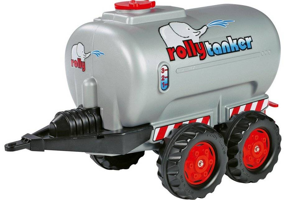 Rolly Silver Twin Axle Tanker for Child's Tractor.