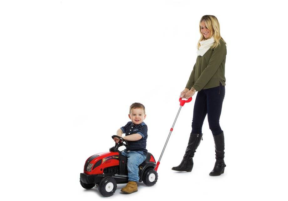 Argos Ranch - Tractor with Push-a-Long Handle