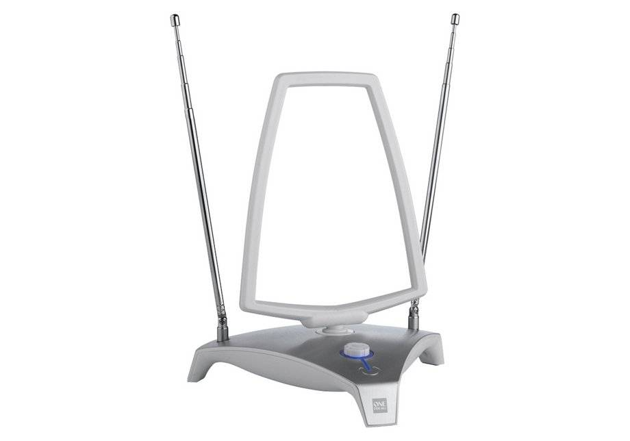 One For All - Amplified Loop Indoor - TV Aerial - Silver