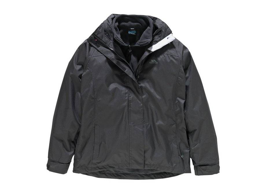 Trespass Black 3 in 1 Jacket - Large