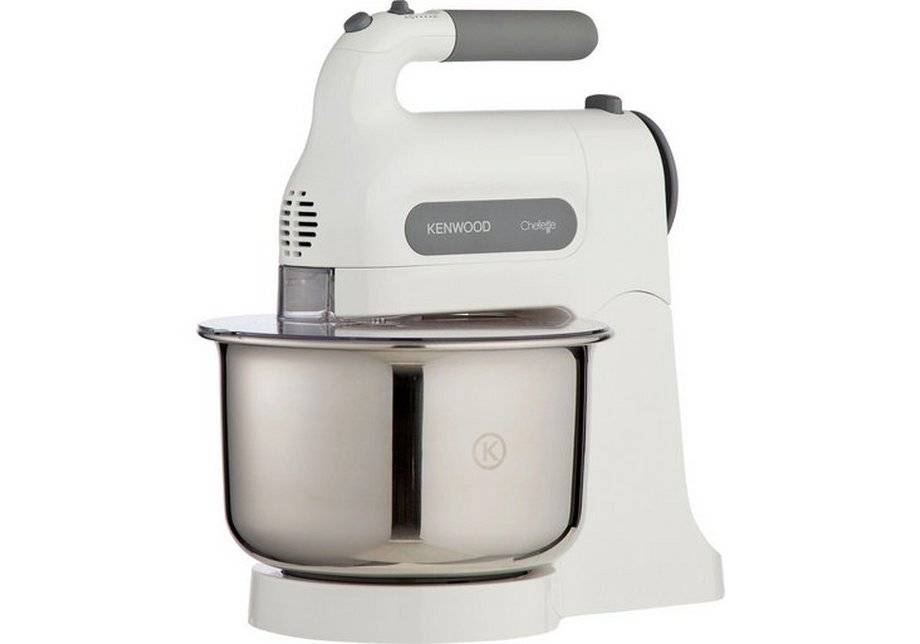 Kenwood HM680 Chefette - Hand Mixer - with Stand - White