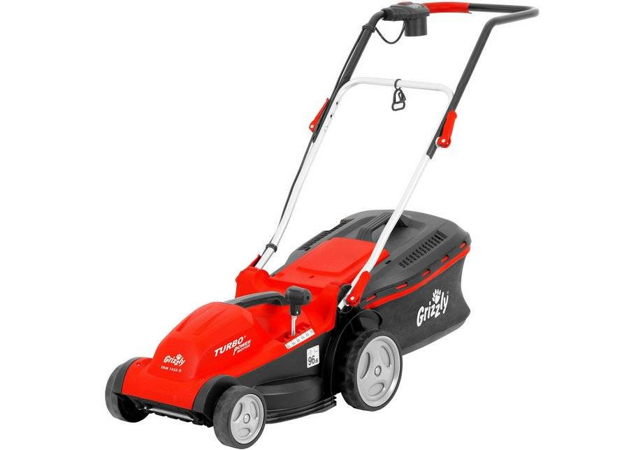 Grizzly Tools 1400W 35cm Corded Electric Lawnmower.