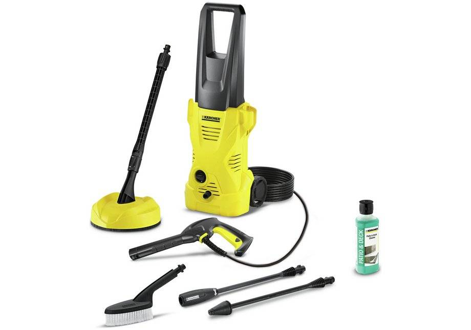 Karcher K2 Home and Brush Pressure Washer - 1400W