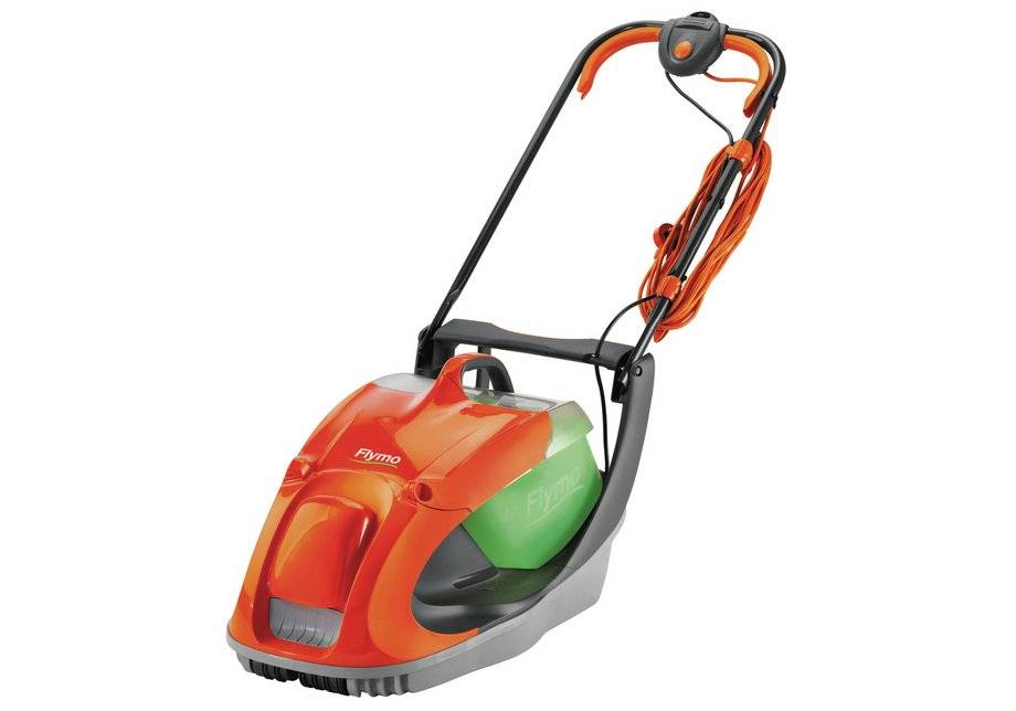 Flymo - Glider 330 33cm - Corded Collect Hover Mower - 1450W