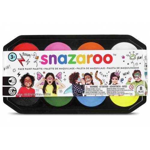 Snazaroo - 18ml Face Paints Palette