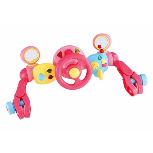 Elc Early Learning Centre - Light and Sound Buggy Driver - Pink