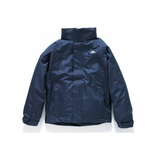 Trespass - Boys Navy 3-in-1 Skydive Jacket - 5-6 Years
