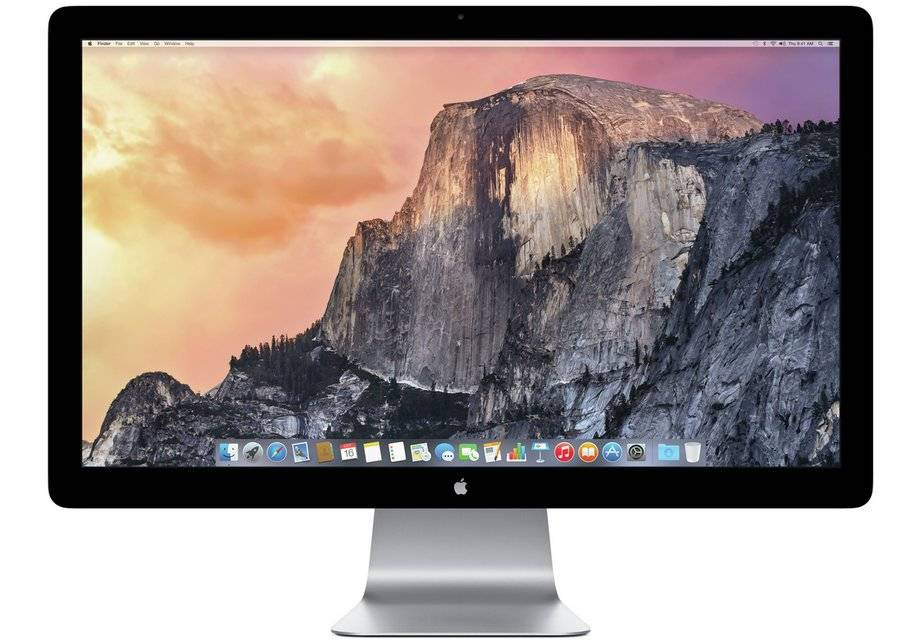 Apple Thunderbolt Display 27 Inch Monitor.