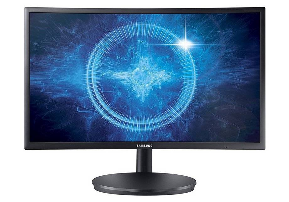 Samsung CFG70 24 Inch Curved Gaming Monitor.