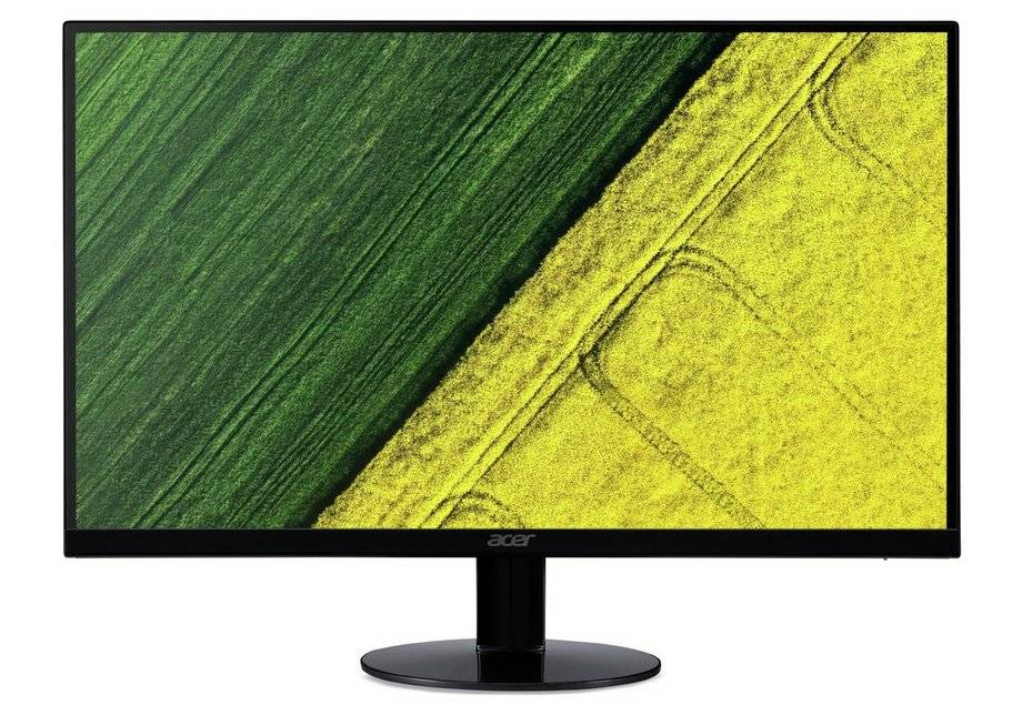 Acer SA24 24 Inch LED ZeroFrame Monitor - Black
