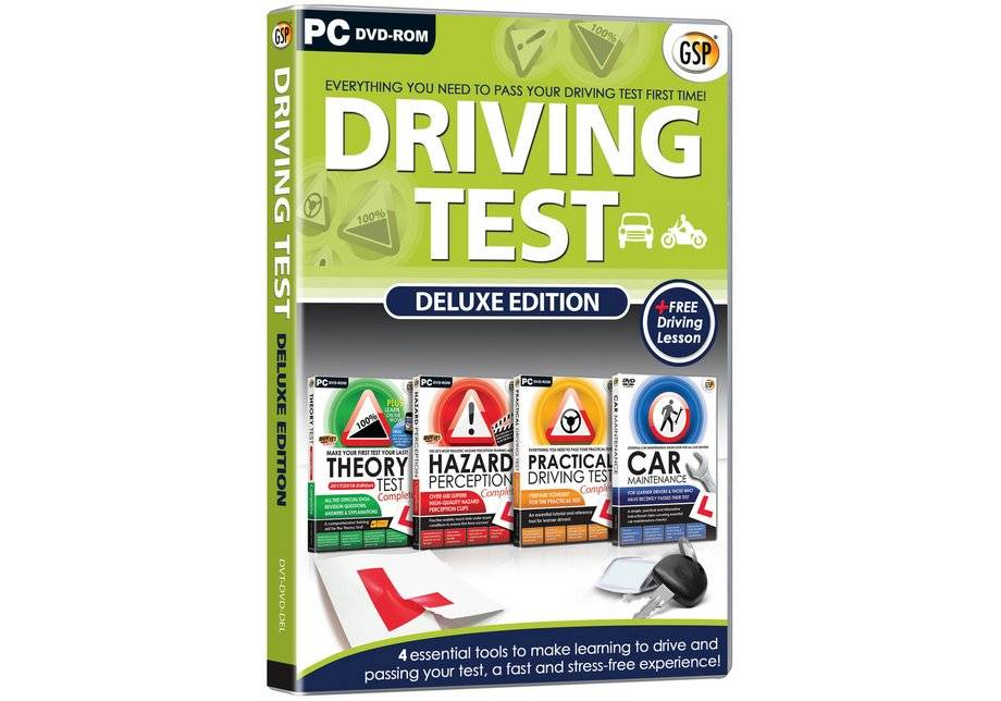 GSP Driving Test - Deluxe 2015 PC DVD ROm