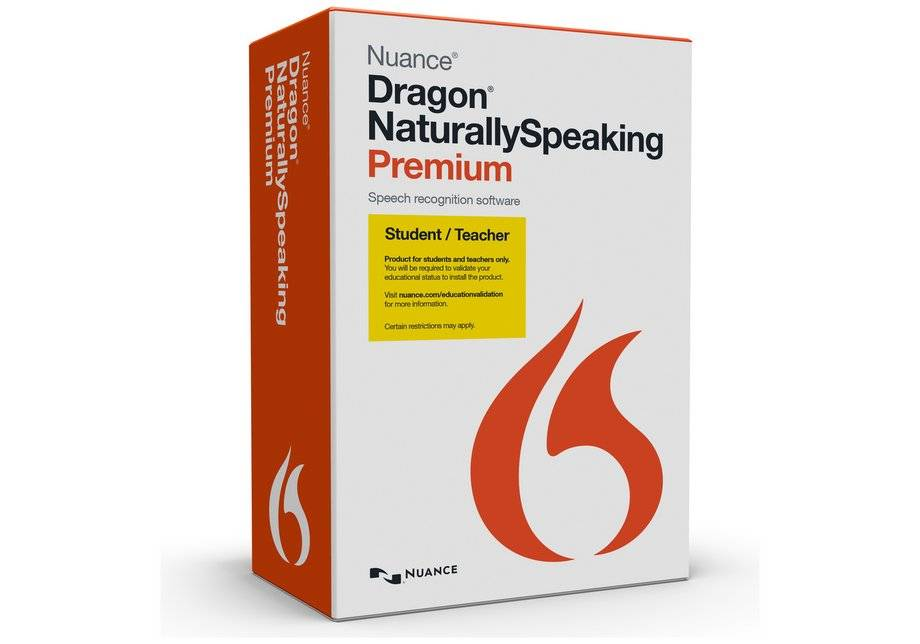 Nuance Dragon - Naturally Speaking 13 Speech Software