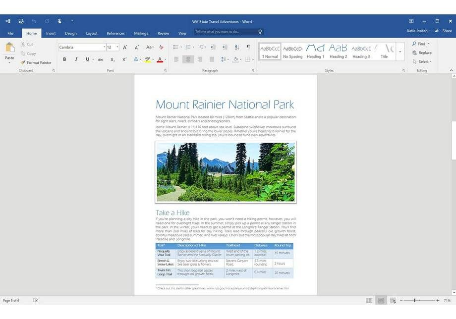 Microsoft Office 2016 Home and Student 1 User