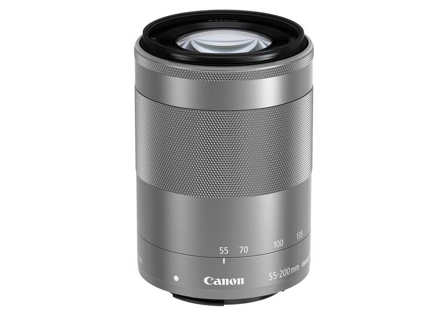 Canon EOS-M 55-200mm f/4.5-6.3 Zoom Lens.