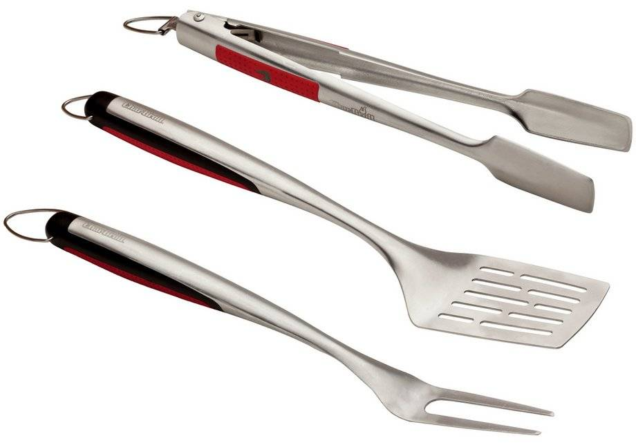 Char-Broil - 3 Piece Barbecue Set Deluxe