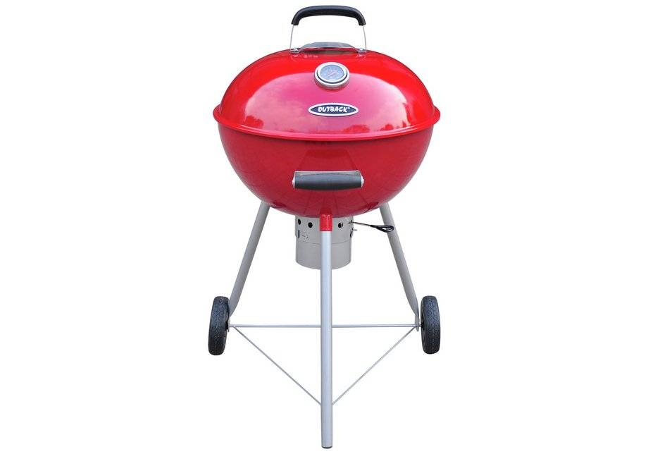 Argos Outback - Red Comet Round - Charcoal - BBQ