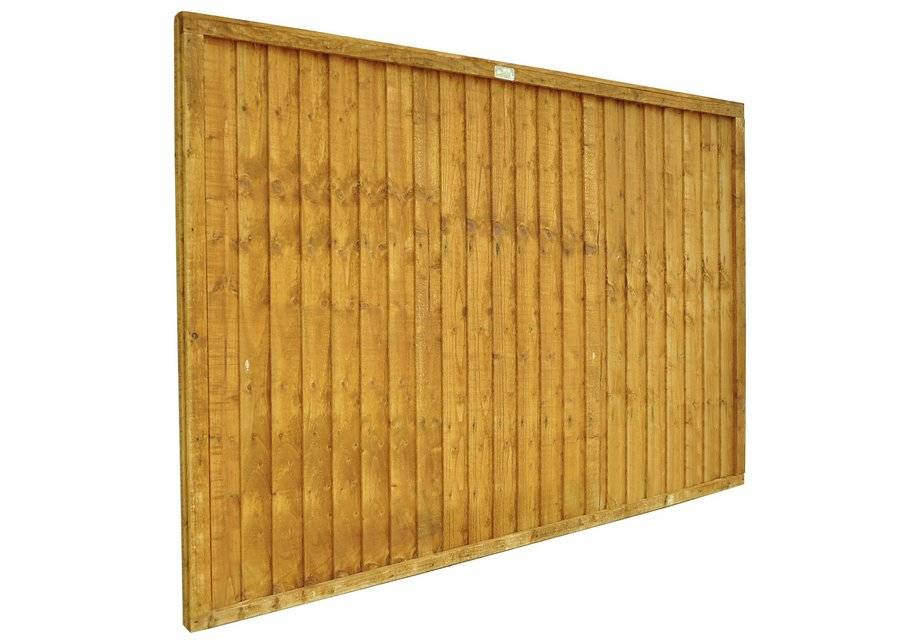 Forest 1.2m Closeboard Fence Panel - Pack of 8.