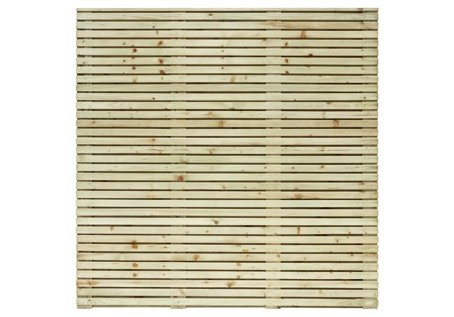 Grange Fencing 1.8m Contemporary Fence Panel - Pack of 3.