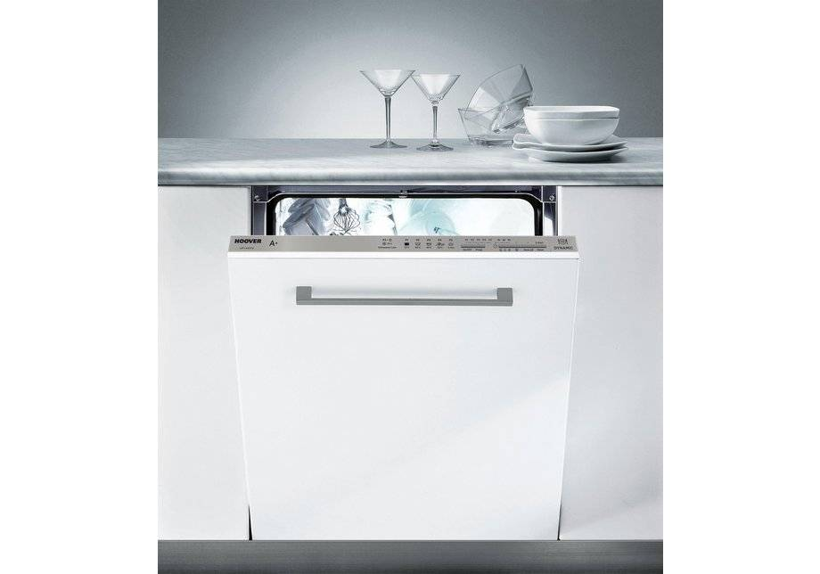 Hoover - HFI6072 Integrated Dishwasher - White