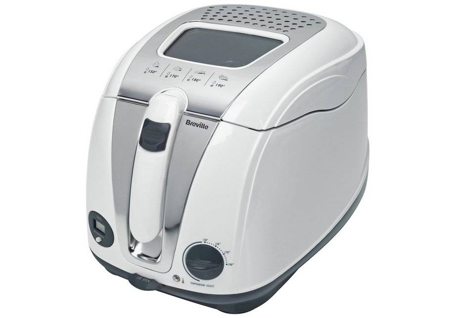Breville - VDF108 Digital - Fryer - White