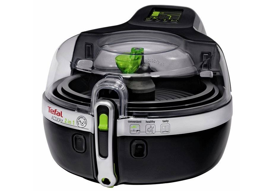 Tefal - YV960140 Actifry 2-in-1 Fryer - Black