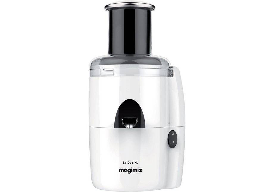 Magimix - Le Duo Extra Large White Juice Extractor