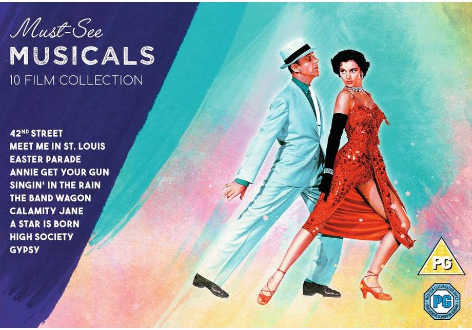 Must See Musicals Collection DVD