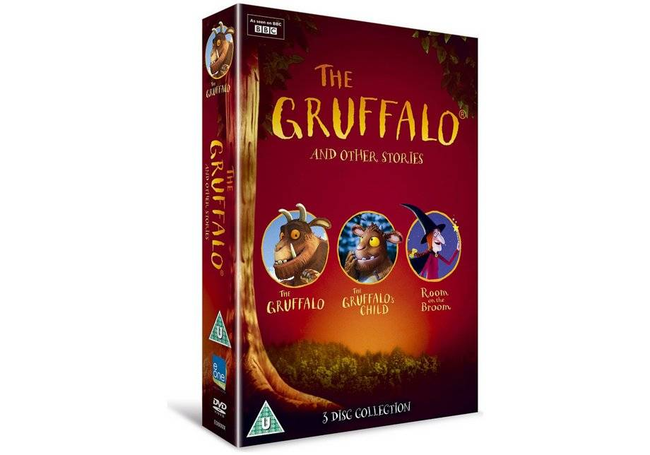 The Gruffalo And Other Stories DVD Boxset
