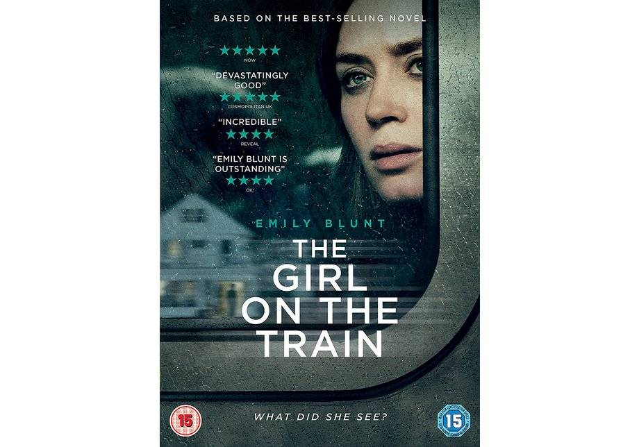 entertainment one The Girl on the Train DVD.