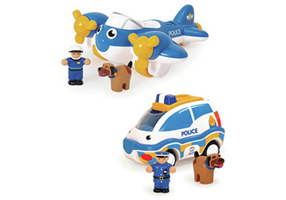 Wow Toys Police Patrol Pals.