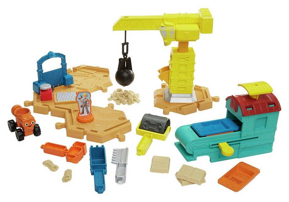 Bob the Builder Mash & Mould Constrution Site Playset