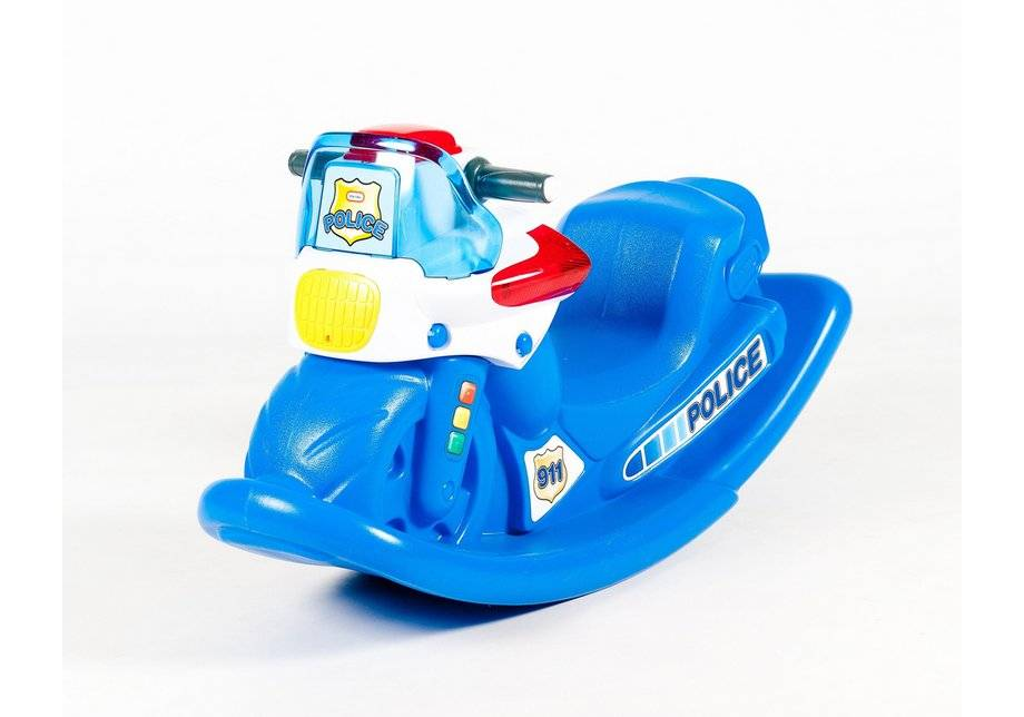 Little Tikes - Police Cycle Sounds Rocker