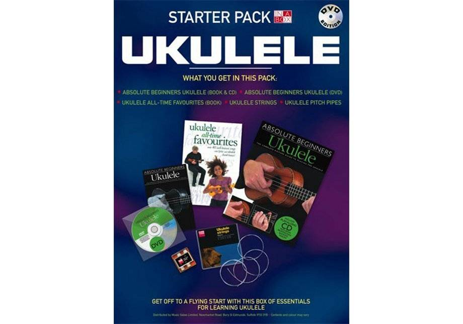 Wise Publications - Ukulele Book in a Box Starter Pack