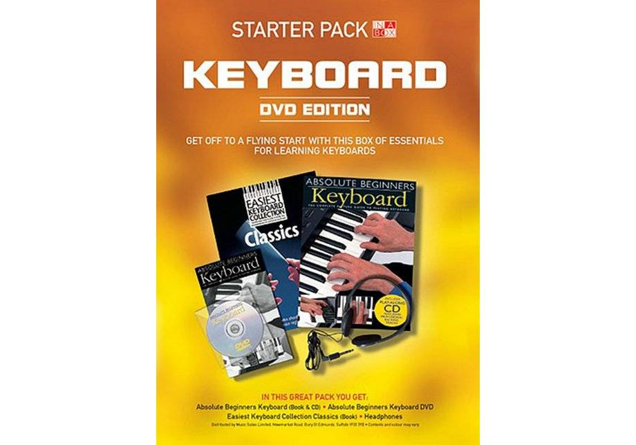 Wise Publications - Keyboard Book in a Box Starter Pack