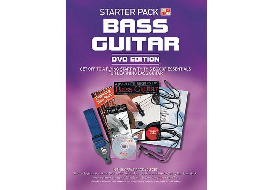 Wise Publications - Bass Guitar Book in a Box Starter Pack