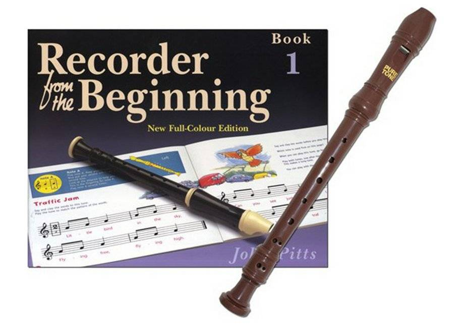 Pure Recorder From The Beginning Pack.