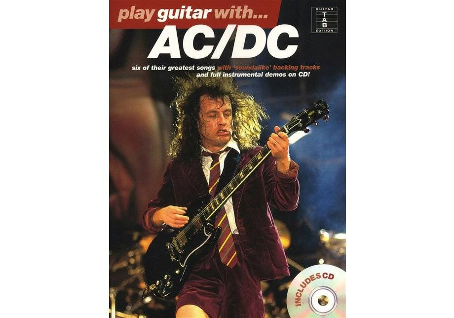 Wise Publications - Play Guitar Book with ACDC