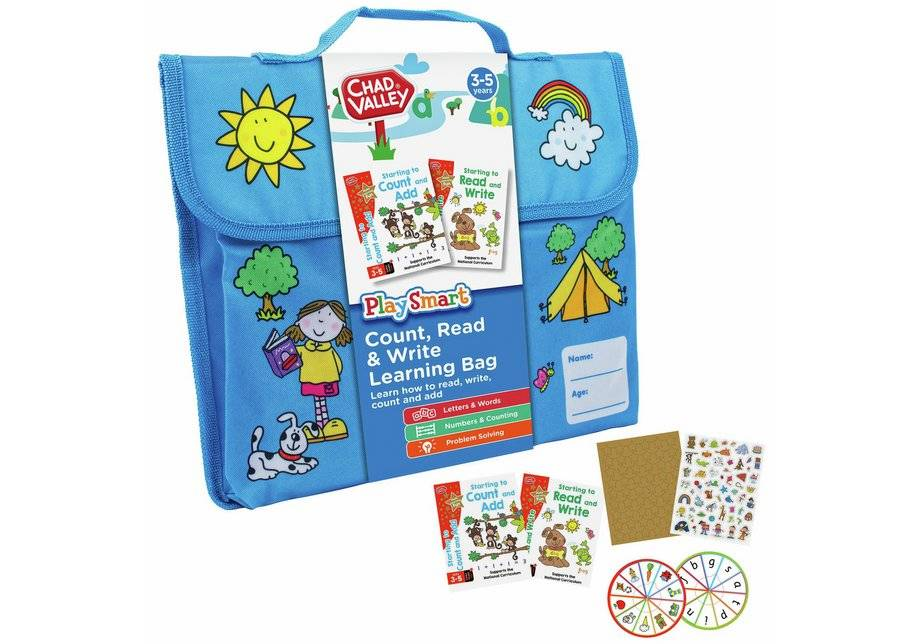 Chad Valley My Learning Bags for Ages 3 - 5 Years