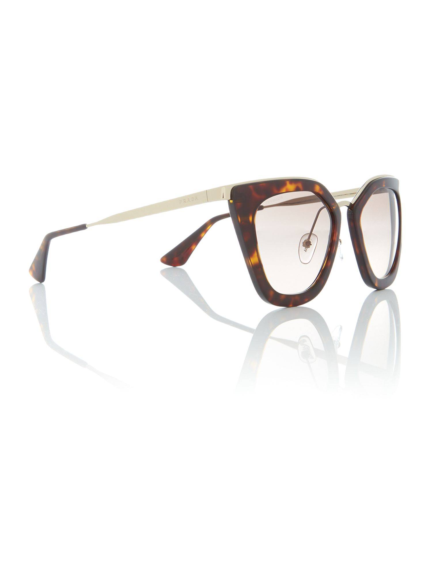 Prada Sunglasses Havana cat eye PR 53SS sunglasses