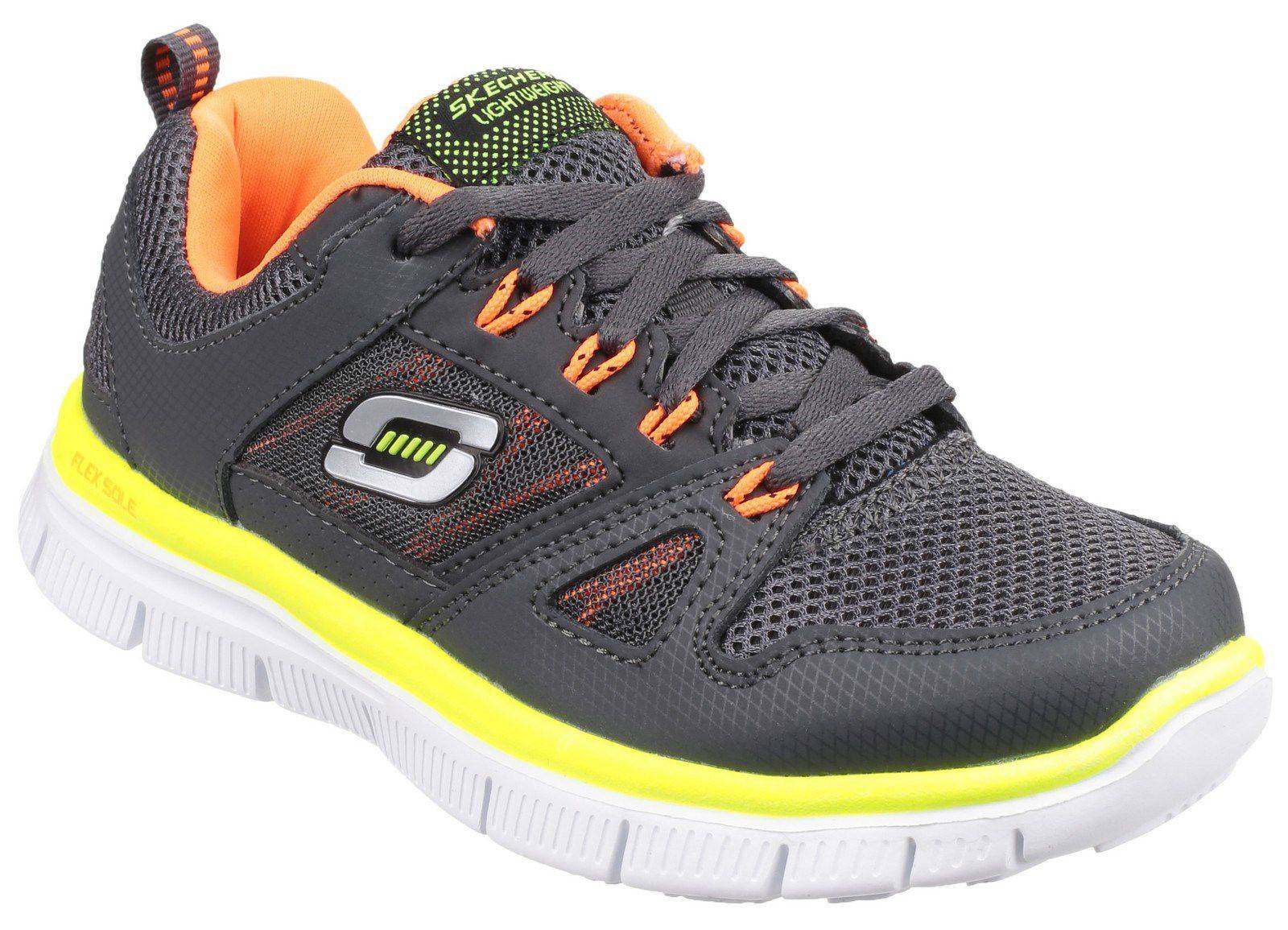 Skechers Boys Flex Advantage Trainers (4 jnr)