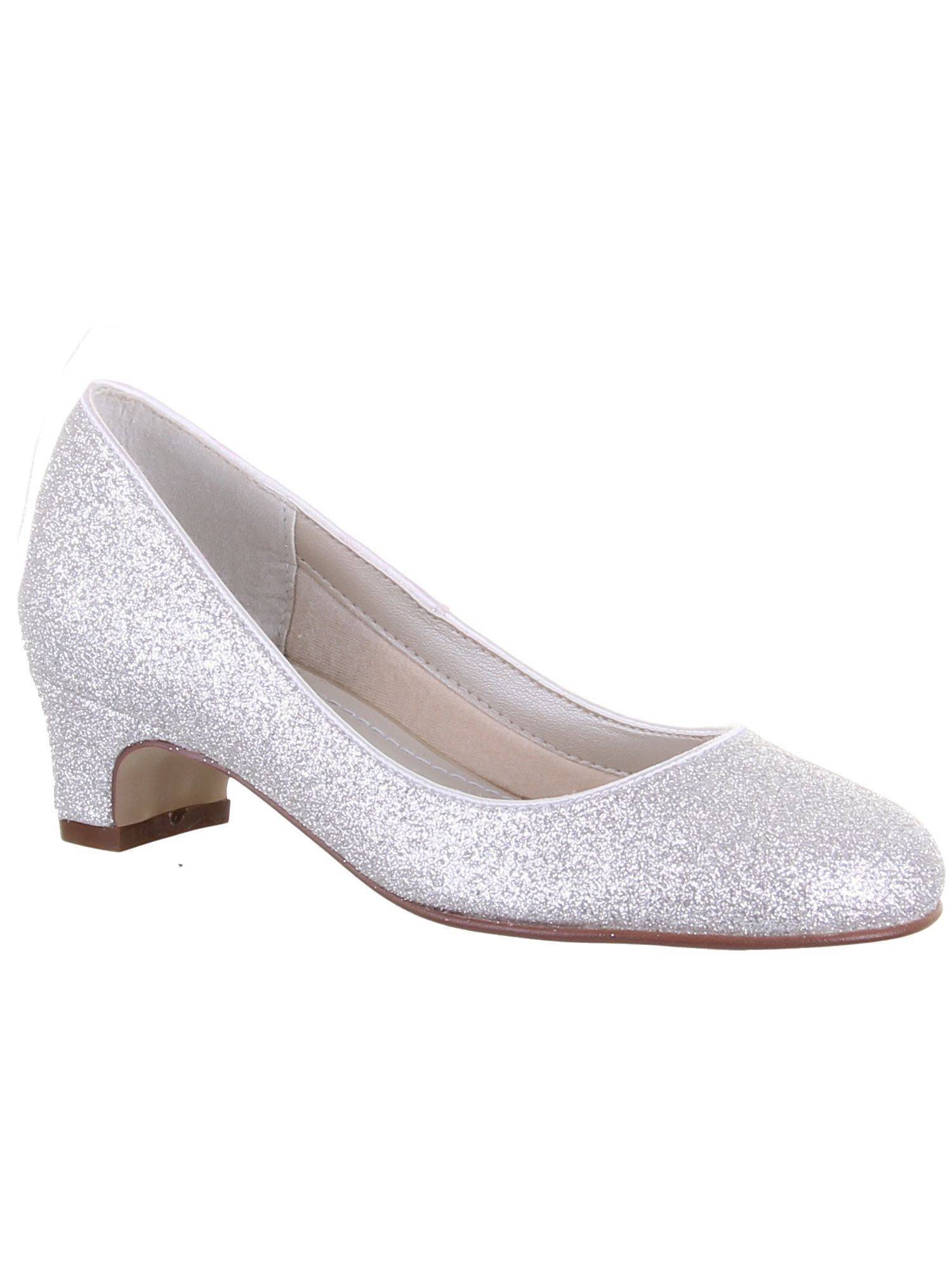 Rainbow Club Girls Sasha shimmer pump occasion shoe (2)