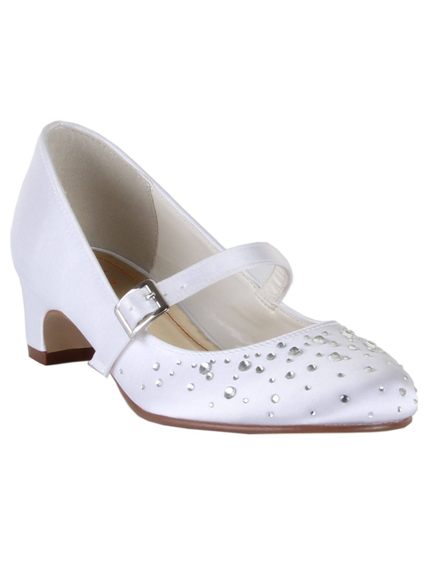 Rainbow Club Girls Cherry Communion Bar Shoes (4)